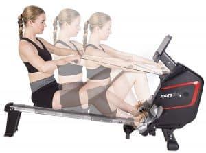 SportPlus SP-MR-009-iE Rowing Machine