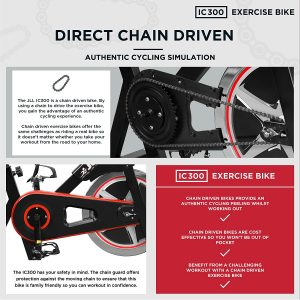 JLL IC300 Indoor Exercise Bike