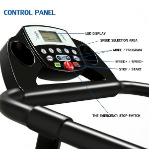 Fitnessclub Folding Electric Motorised Treadmill
