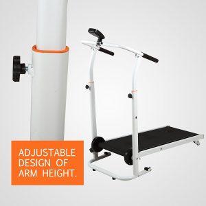 Fitnessclub Folding Manual Treadmill
