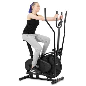 JLL 2-in-1 Elliptical Cross Trainer Exercise Bike