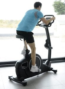 JTX Cyclo-5 Upright Gym Exercise Bike